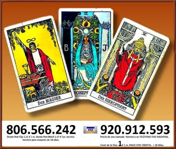 Tarot Barato y Eficaz, Visa económica, 24 hrs.Tirada de cartas