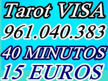 Tarot visa barata 12 euros 30 minutos oferta 961.040.383