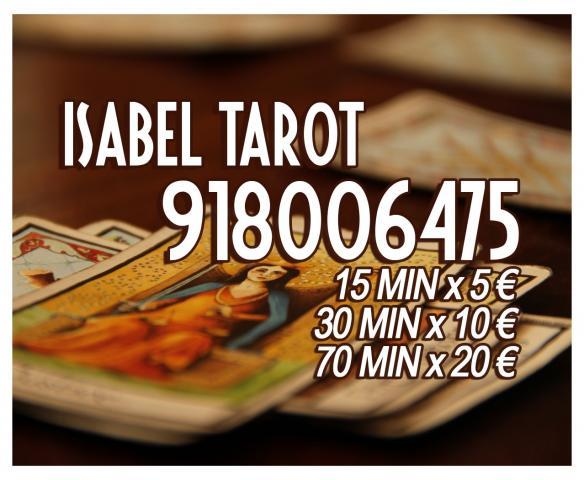 Isabel Vidente Tarotista 30X10e