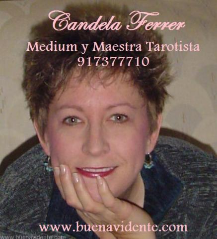 Candela Ferrer, auténtica vidente, 30 años de expe