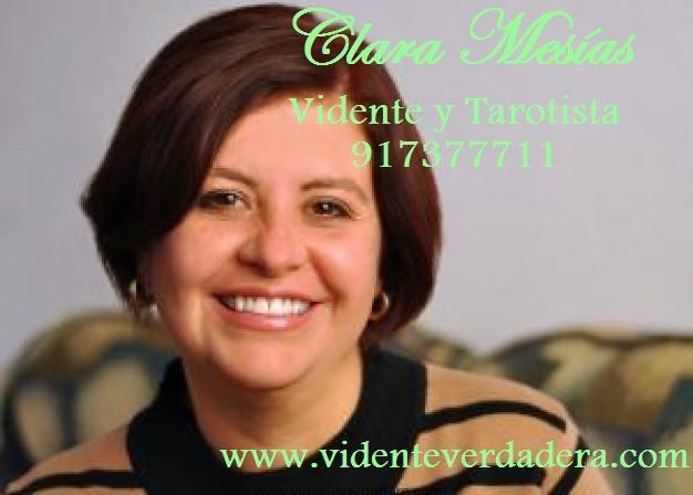 Clara Mesias, vidente real, más de 35 años de experiencia