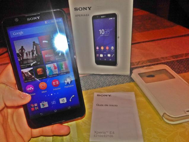movil Sony XPERIA E4