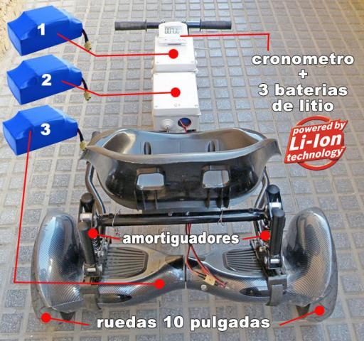 Patinete electrico hoverboard hoverkart tuneado