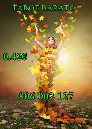 Tarot económico bueno 0.42 videncia CORAL 806 002 127