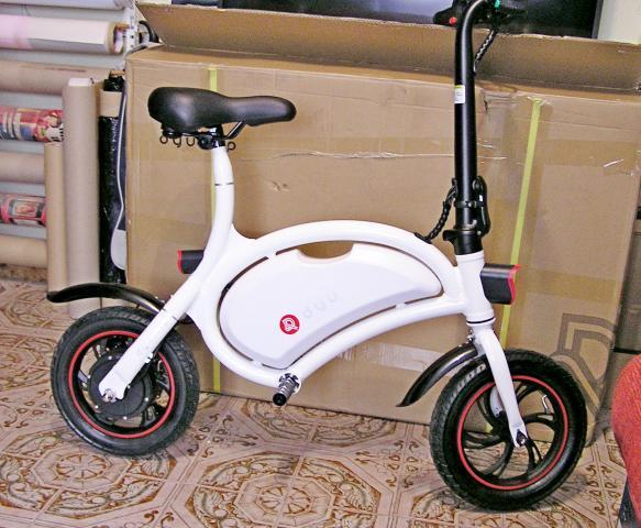 Bicicleta electrica scooter ruedas 12 pulgadas neumatica