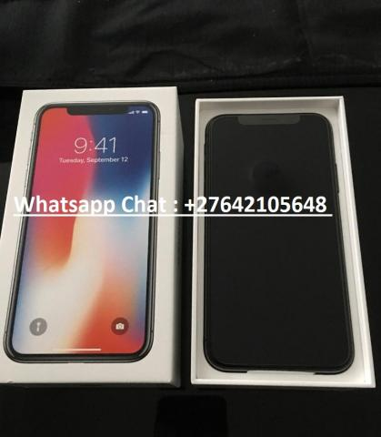 Apple iPhone X 64GB - â 400 e Apple iPhone X 256GB - â 450