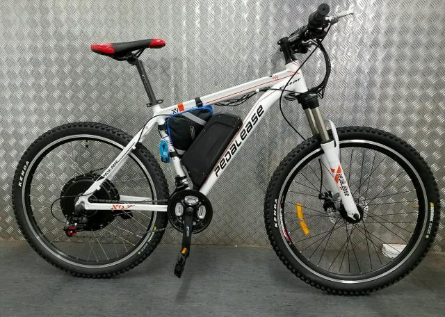 Pedalease bici de montaña eléctrica 48v 1500w.Samsung LED-LCD