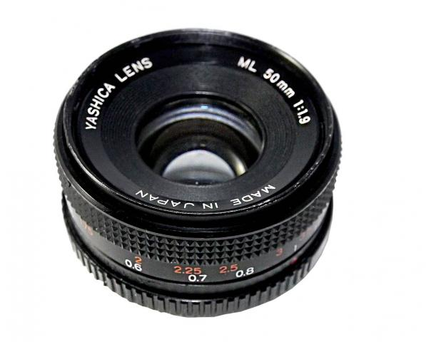 Objetivo Yashica ML 1.9-50mm