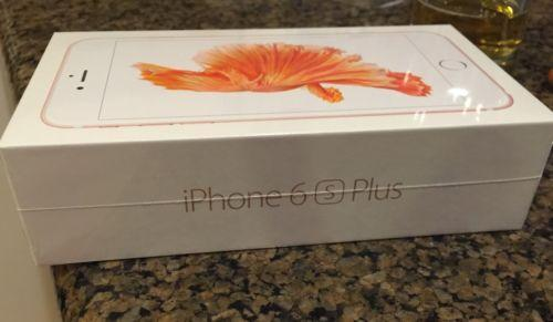 Apple iphone 6 S Plus 128GB ORO; en la caja(desbloqueado de fáb