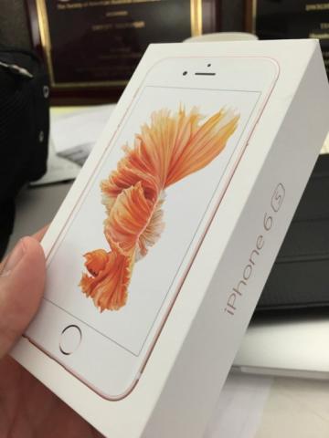 NUEVO Apple iPhone 6S 128GB Oro de Rosa(desbloqueado)