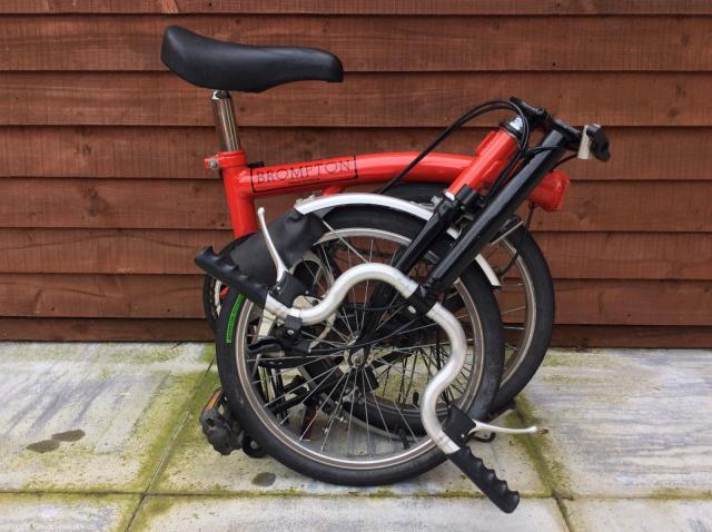 Brompton M5L Bicicleta plegable de la bici de 5 Velocidad