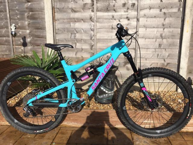 Santacruz Nomad Carbon bicicleta