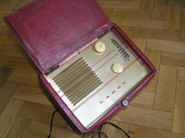 ANTIGUA RADIO GAROD DE LOS AÑOS 40
