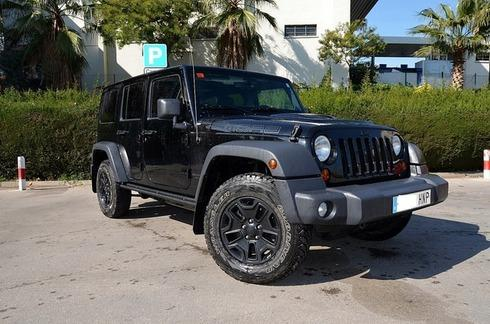 Jeep Wrangler UNLIMITED 2.8 CRD MOAB 200CV ** LIMITED EDITION**