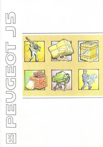 Catálogo furgoneta Peugeot J5