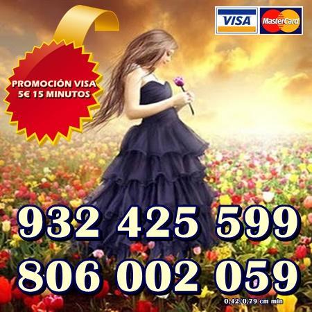 Tarot 806 Barato y económico 0,42 cm. Visa 5 15 min.