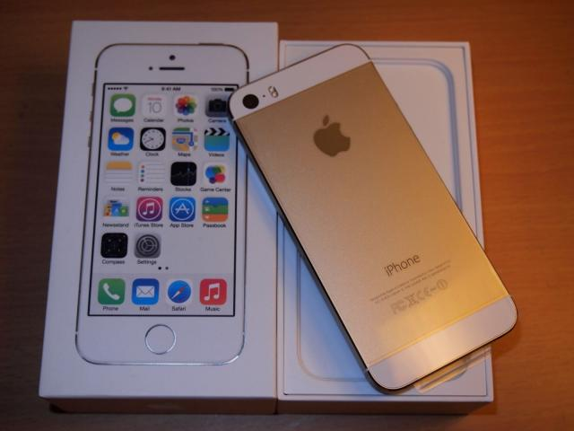 Nuevo iPhone de Apple 5s - 16GB -Oro(GSM desbloqueado) ME305LL