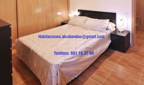 Habitación con cama grande en Alcobendas. UAM