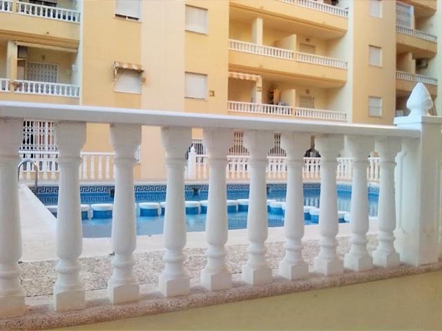 Apartamento 1 dormitorio con piscina Torrevieja