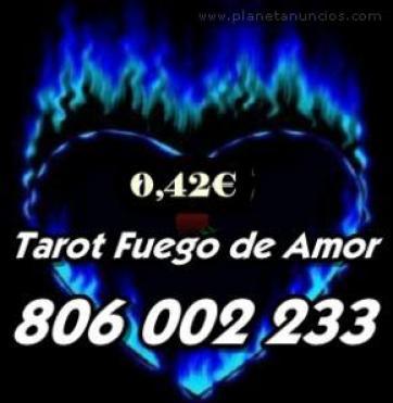 Tarot barato bueno 0.42 FUEGO DE AMOR 806 002 233