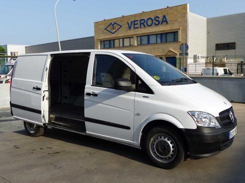 Mercedes Vito 110 CDI LARGA USO PRIVADO KM CERTIFICADOS