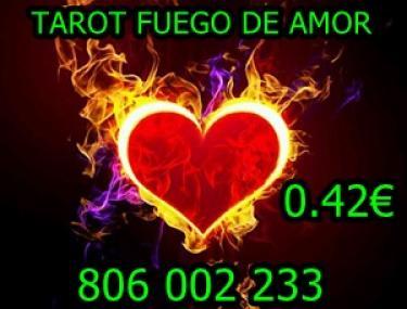 Tarot barato fiable 0.42 FUEGO DE AMOR - 806 002 233
