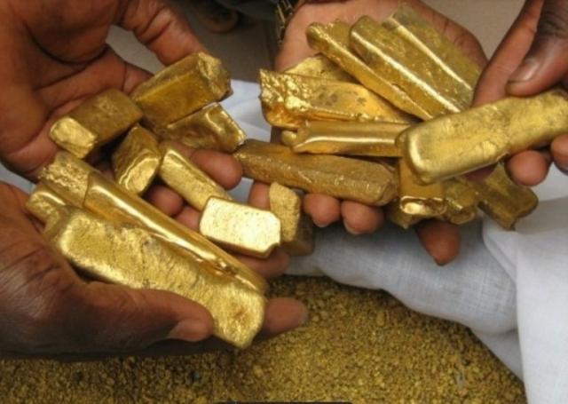 Oro puro y metales preciosos