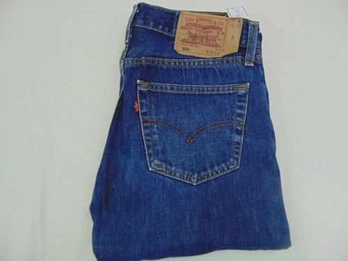 pantalon vaquero levis 501 talla 32 azul oscuro