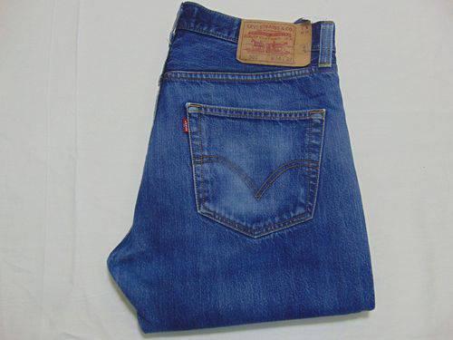 Pantalon barato levis 501 color azul oscuro talla 44