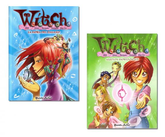 Witch lote 2 tomos (Planeta Junior)