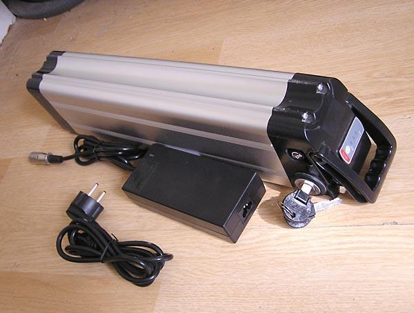 Bateria recargable de litio cargador para bicicleta electrica