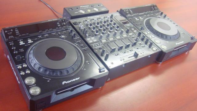 Pioneer DJ completo Pioneer DVJ-1000