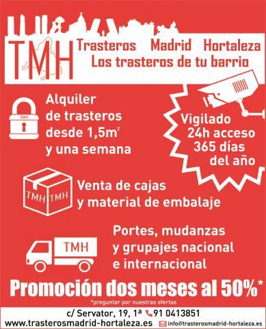 TMH Trasteros Madrid Hortaleza