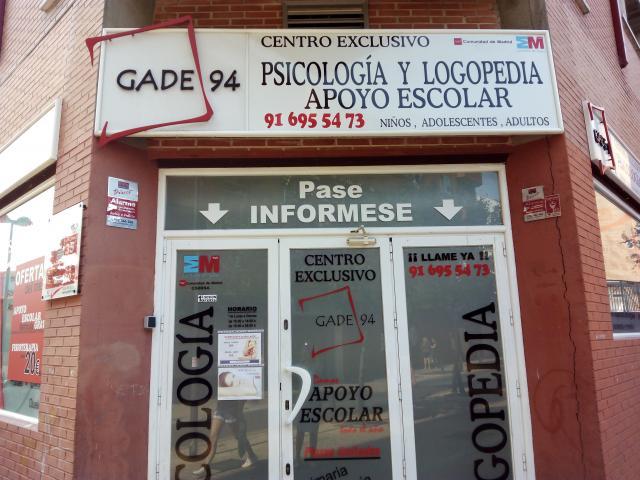 Psicologo, Logopeda, Fisioterapeuta y Apoyo Escolar GADE 94