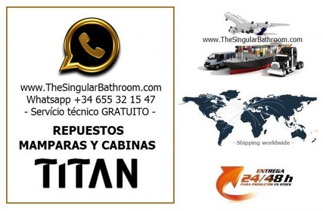 Repuestos mamparas y cabinas TITAN
