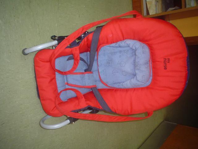HAMACA TUMBONA MARCA Baby Nurse, reclinable en distintas posicion
