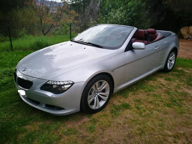BMW 635 Serie 6 E64 Cabrio Diesel ACEPTO COCHE A CAMBIO