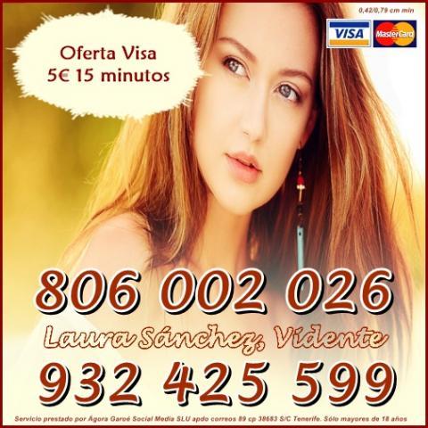 MAGIA BLANCA Y TAROT POR 5 15 MINUTOS. TAROT BARATO 806 0,42 CM