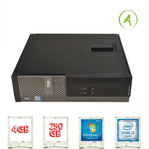 Dell Optiplex 3010 SFF Slim i3-3220 3.3Ghz 4GB 250GB HDMI