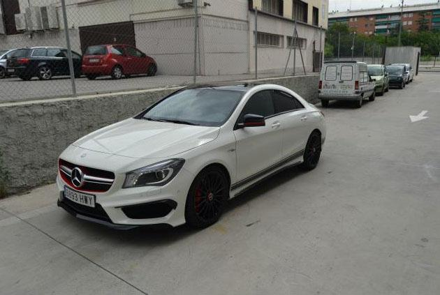 Mercedes-Benz CL CLA 45 AMG 4M Edition 1
