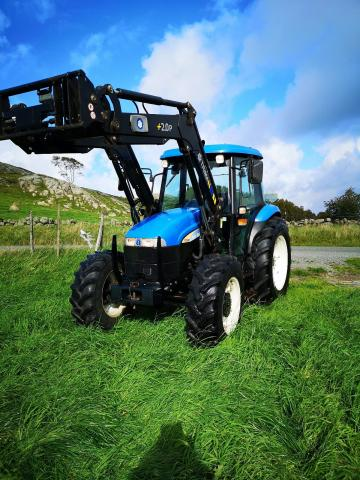 New Holland TD80D 2006, kr Holland