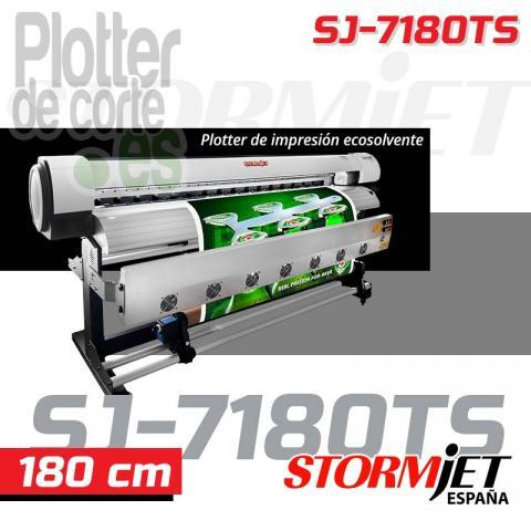 Nueva impresora ecosolvente de 180 cm calidad profesional StormJe