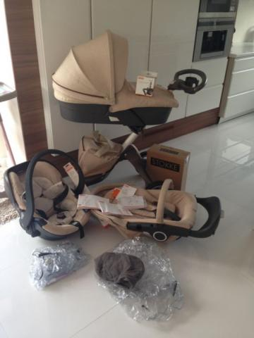 Stokke Xplory V4 3 en 1 cochecito de bebé