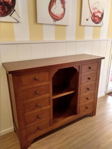 Mueble Aparador color cerezo