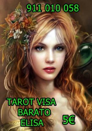 Tarot Visa muy económico 5 ELISA videntes 911 010 058