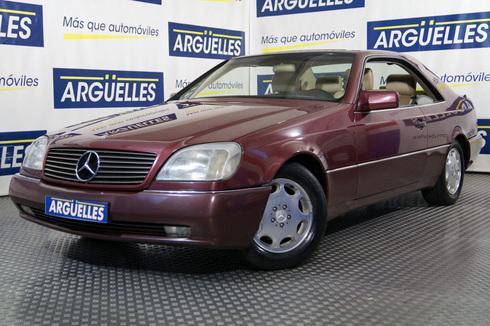 Mercedes-Benz 500 S Coupe 320cv Nacional IMPECABLE