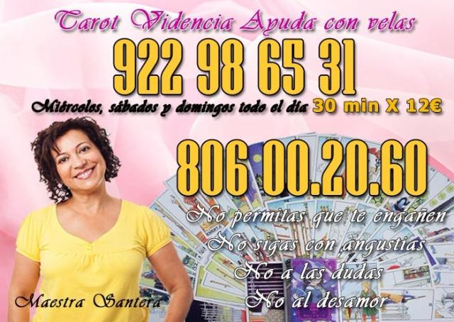 Tarot y videncia 922 98 65 31 barato