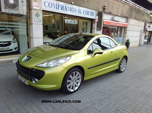 Peugeot 207 CC 1.6 VTi 16v 120