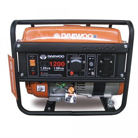 Generador Gasolina Daewoo 1000W 2,5CV