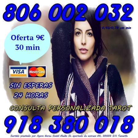 Tarot, videntes con experiencia por Visa 9 30 minutos. Tarot 806